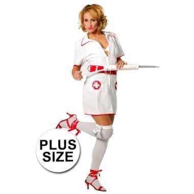 Verpleegster verkleed pakje grote maat