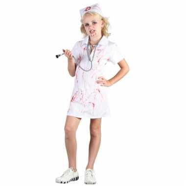 Zombie verpleegstertje meisjes pakje